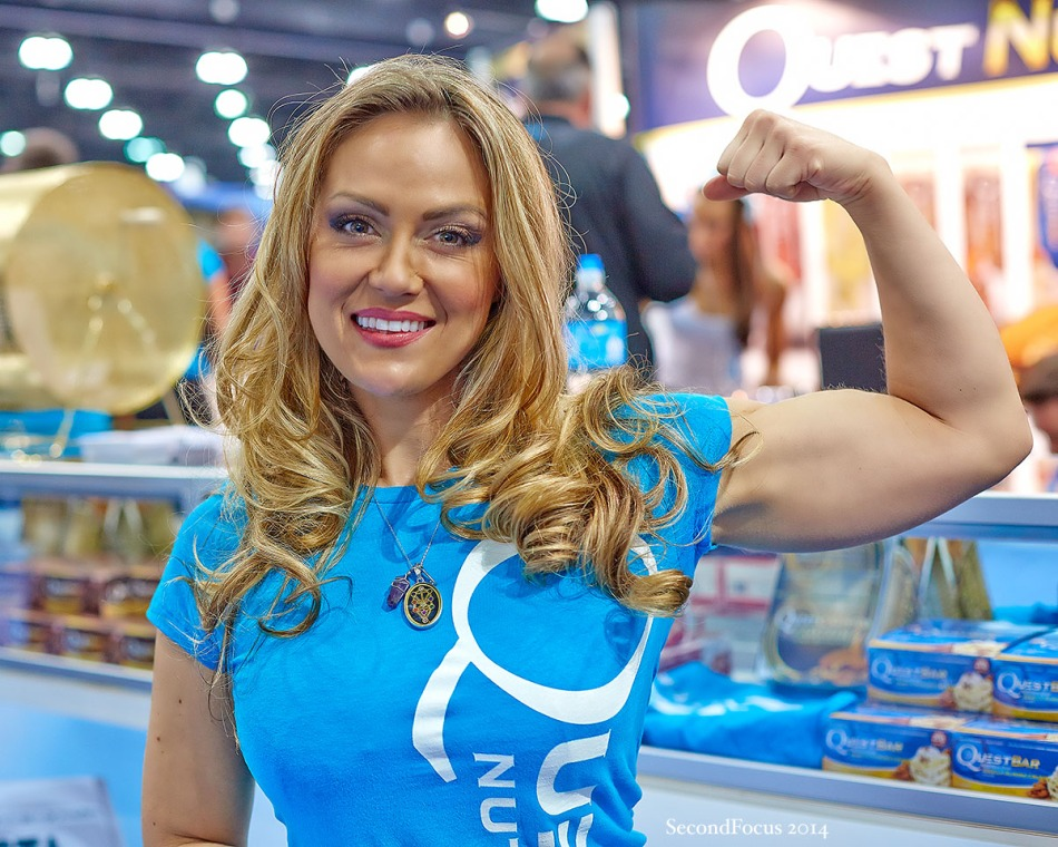 Tiphany Adams At The FitExpo