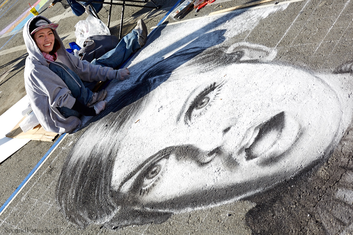 Twiggy In Chalk