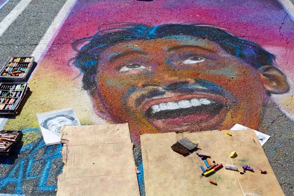 The Making Of Chalk Art