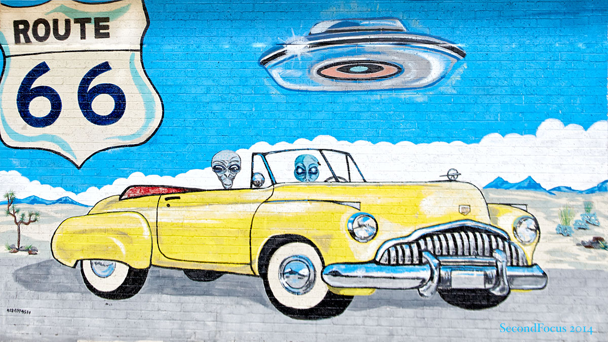They Come From All Over To Travel Route 66