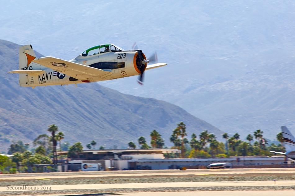 T-28 Leaving The Runway