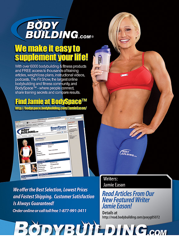 Those Jamie Eason Bodybuilding.com Ads...