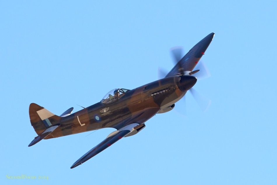 Spitfire In The Air