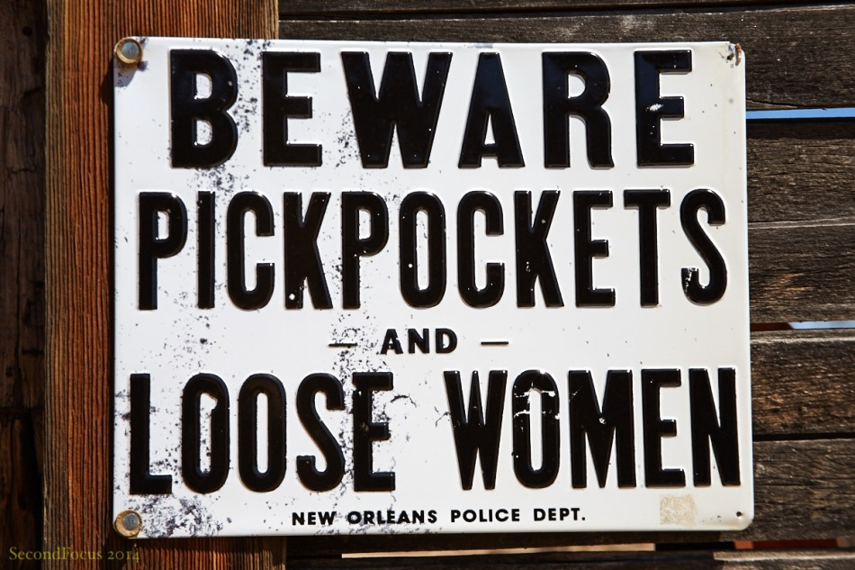 I Am Always Wary Of Pickpockets!