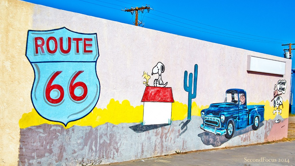 A Peanuts Route 66