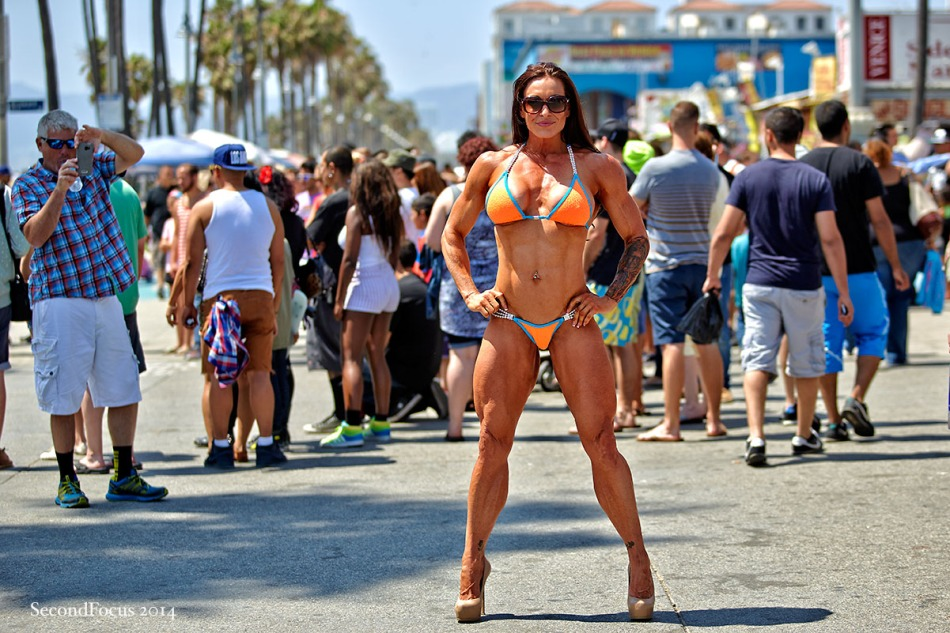 It Takes A Lot To Stand Out On The Venice Beach Boardwalk!
