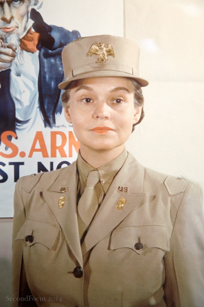 The First Commanding Officer of the Women's Army Corp