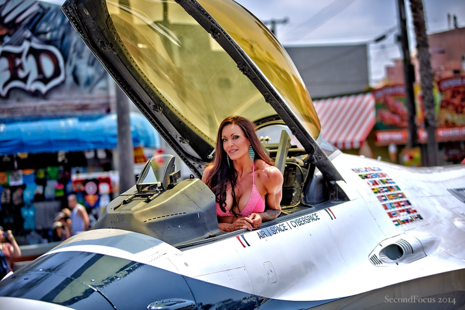 In The Cockpit She Looked Better Than Me!