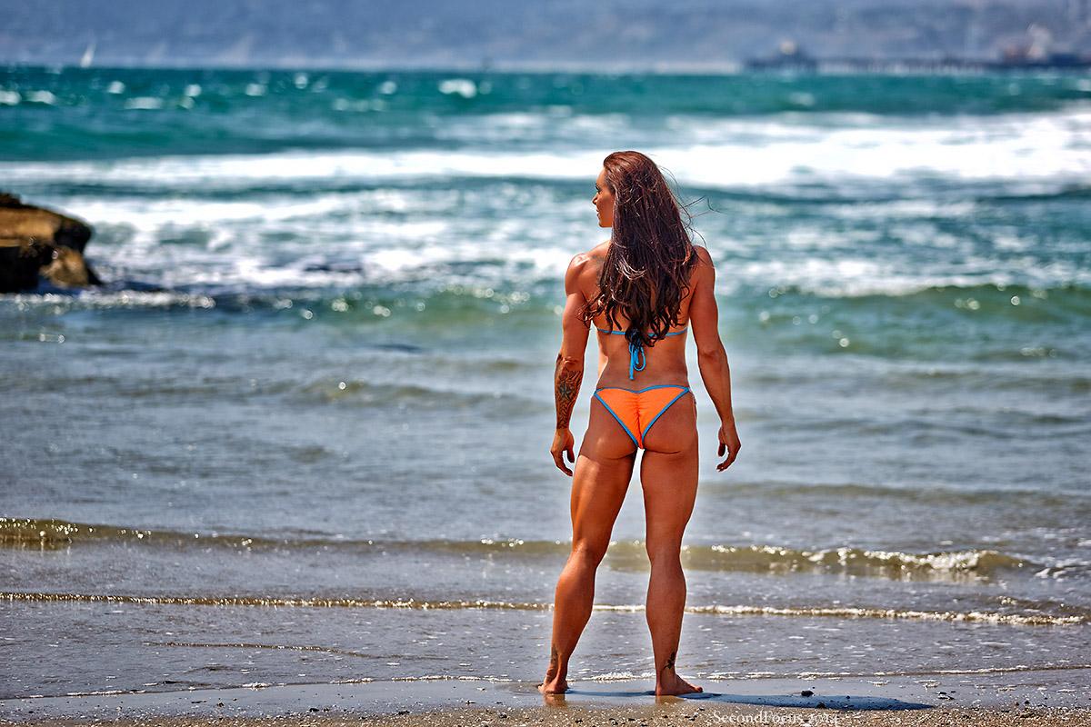 Lisa Marino Sanders at Venice Beach