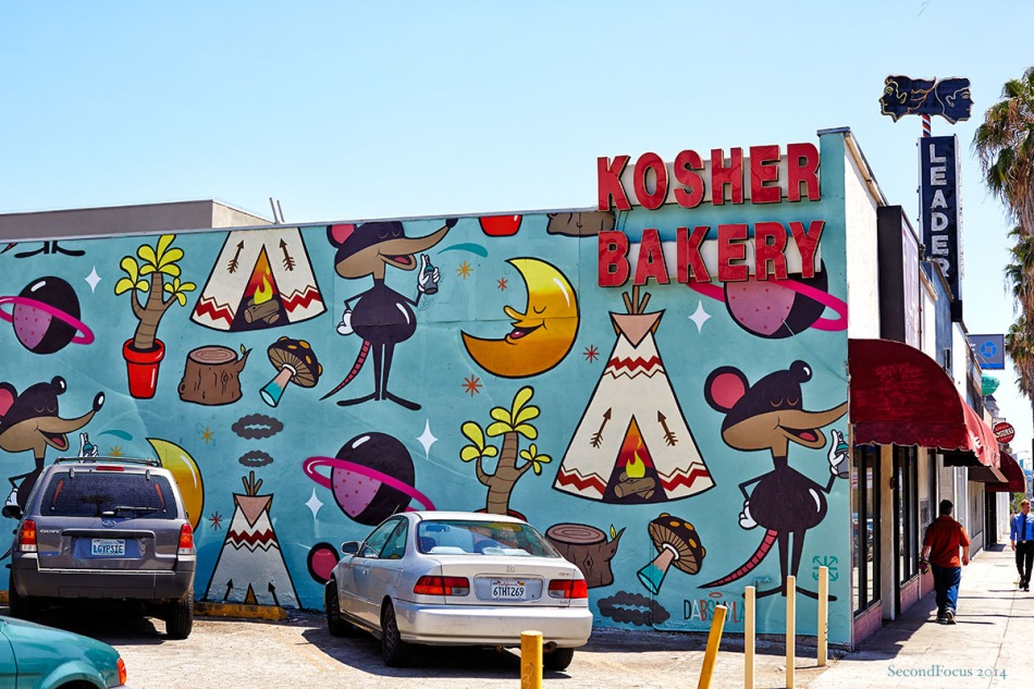 Kosher Bakery Mural