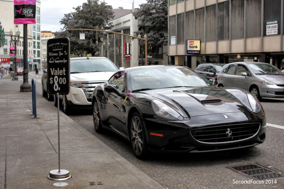 Valet Parking Ferrari