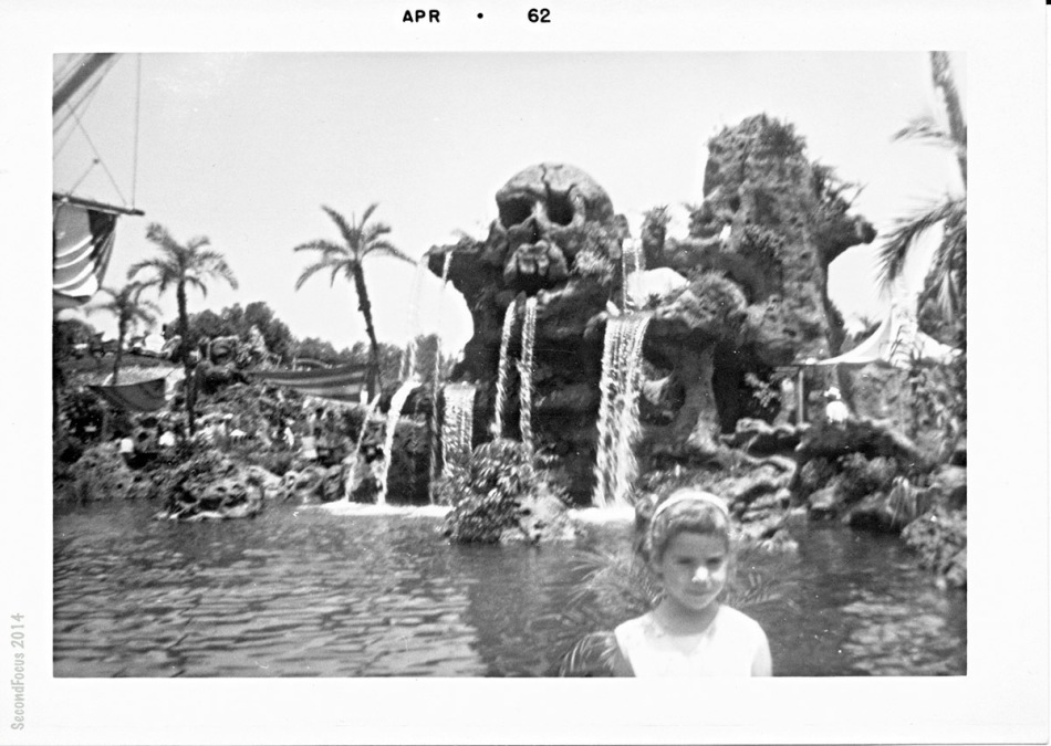 Robin at Disneyland