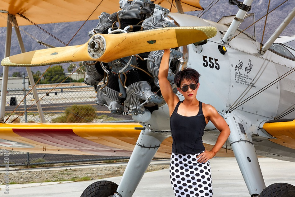 An Aviatrix Of Fitness