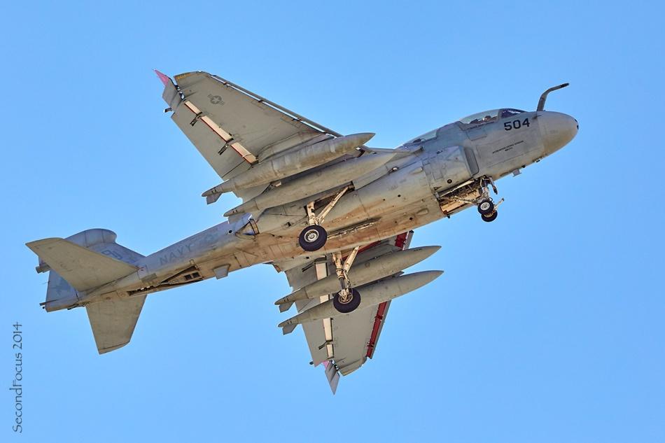 US Navy EA-6B Prowler