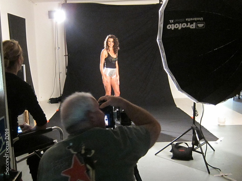 Holiday Shoot With Maria Bertrand