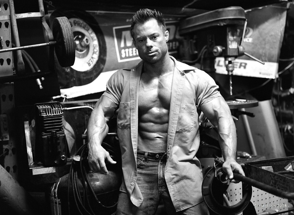 Jake Sawyer at the Garage