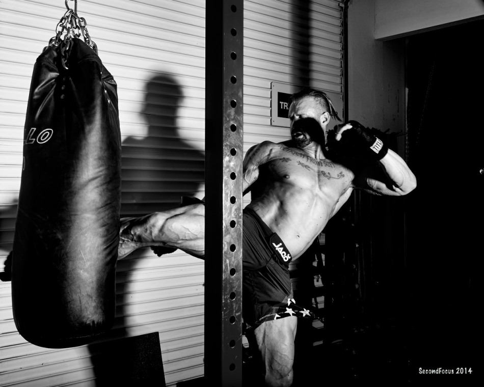 Working The Heavy Bag