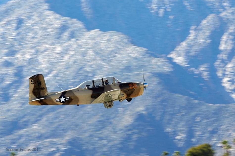T-34 Fly In