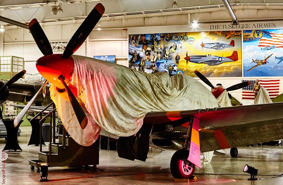 "P-51 Mustang 'Bunny"" & Tuskegee Airmen"