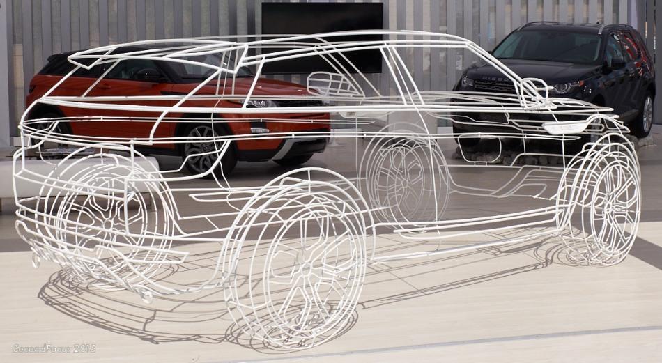 Range Rover Evoque Ghost
