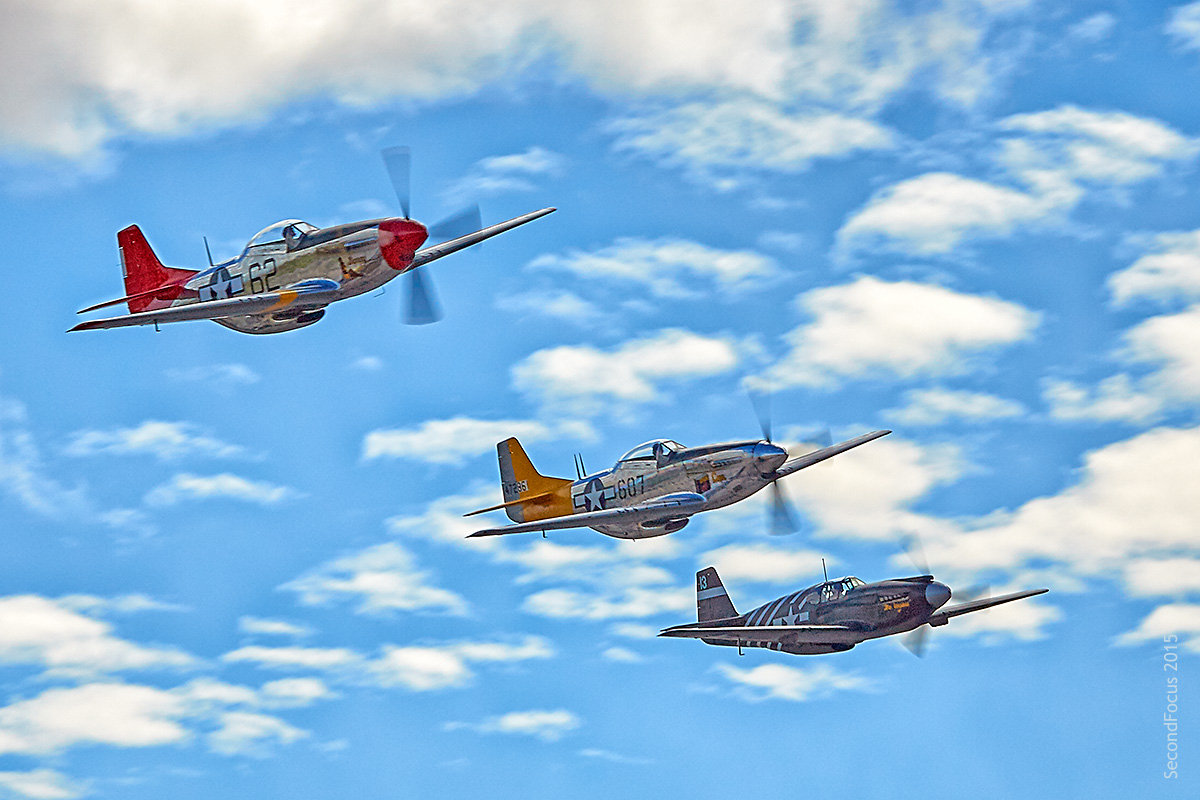 Bunny And P-5s Flyby