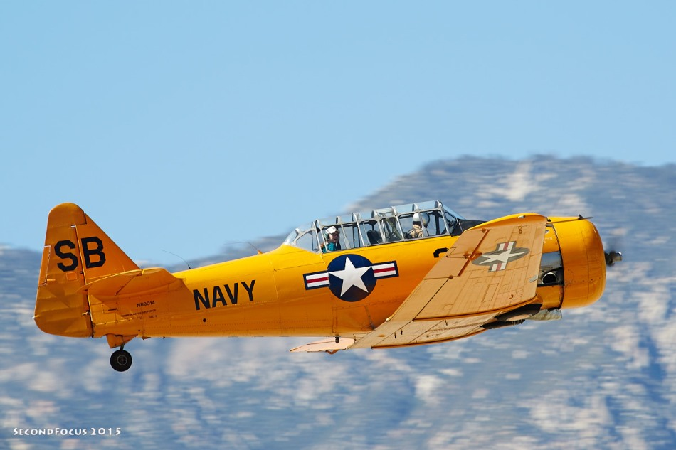 WWII Navy SNJ Trainer