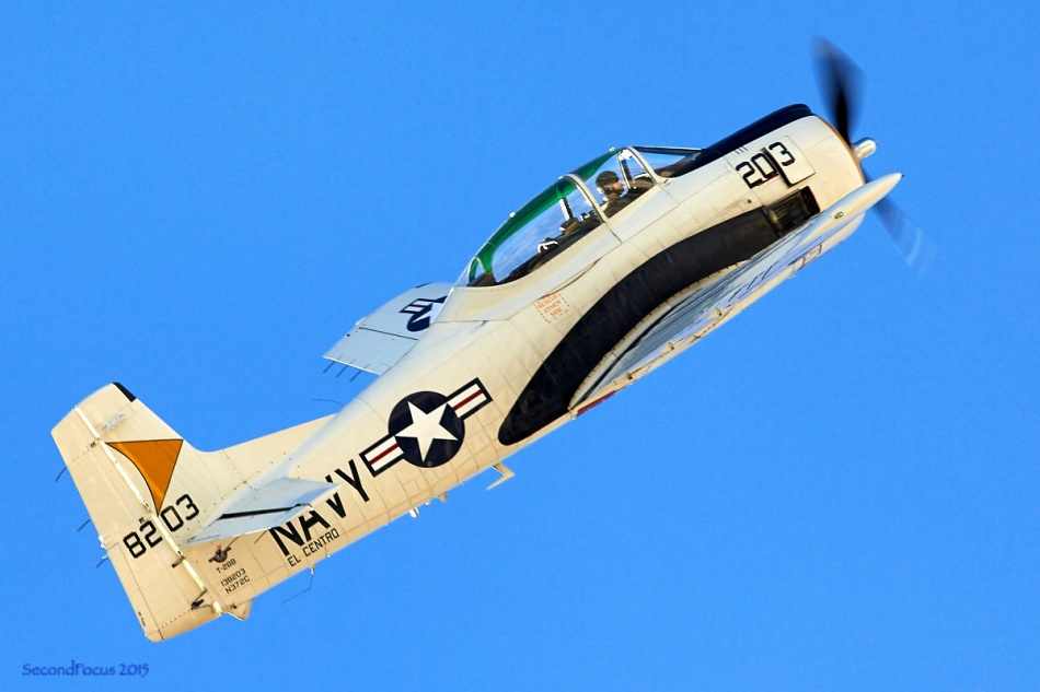 T-28 At The Palm Springs Air Museum