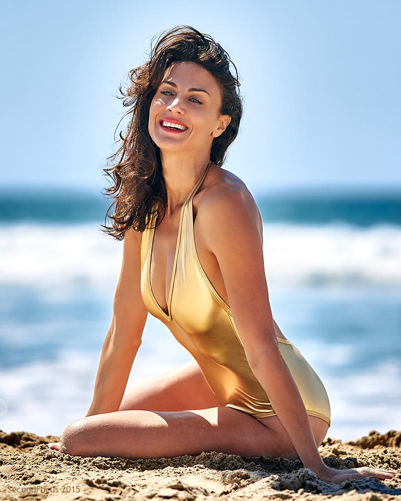 Maria Bertrand at Venice Beach