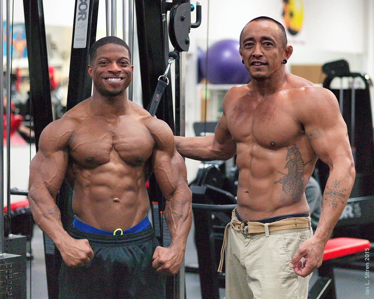 Travis Ely and Aaron Cruz
