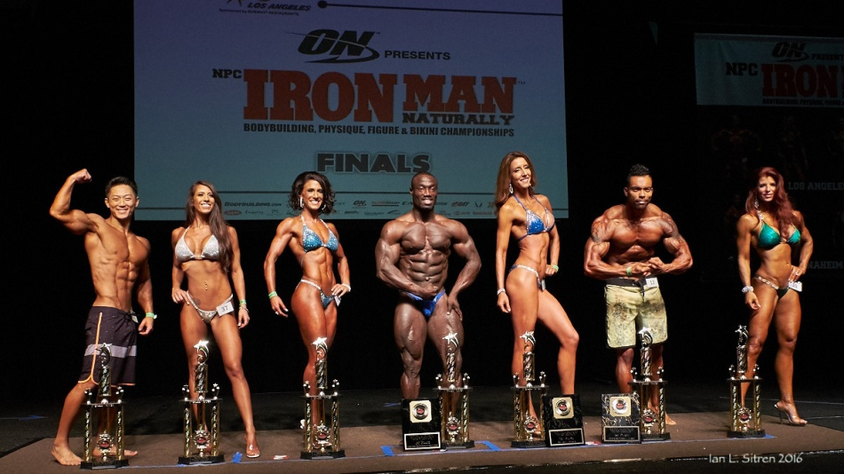 Iron Man Naturally 2016 Winners