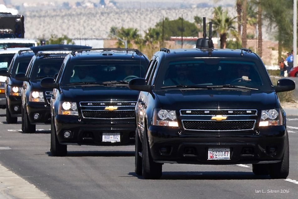 President's Motorcade