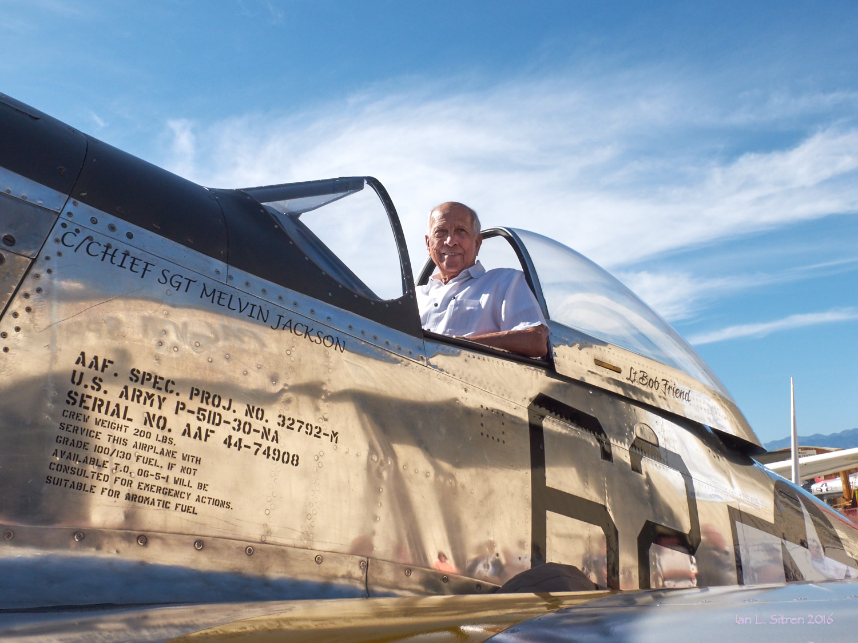 Tuskegee Airman Rusty Burns