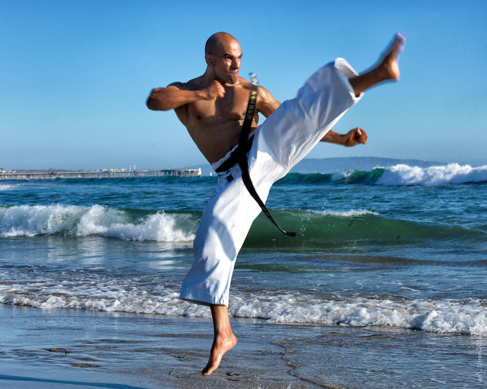 Blackbelt at Venice Beach