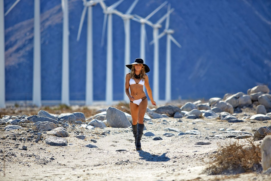 Bikini Fashion In The Desert