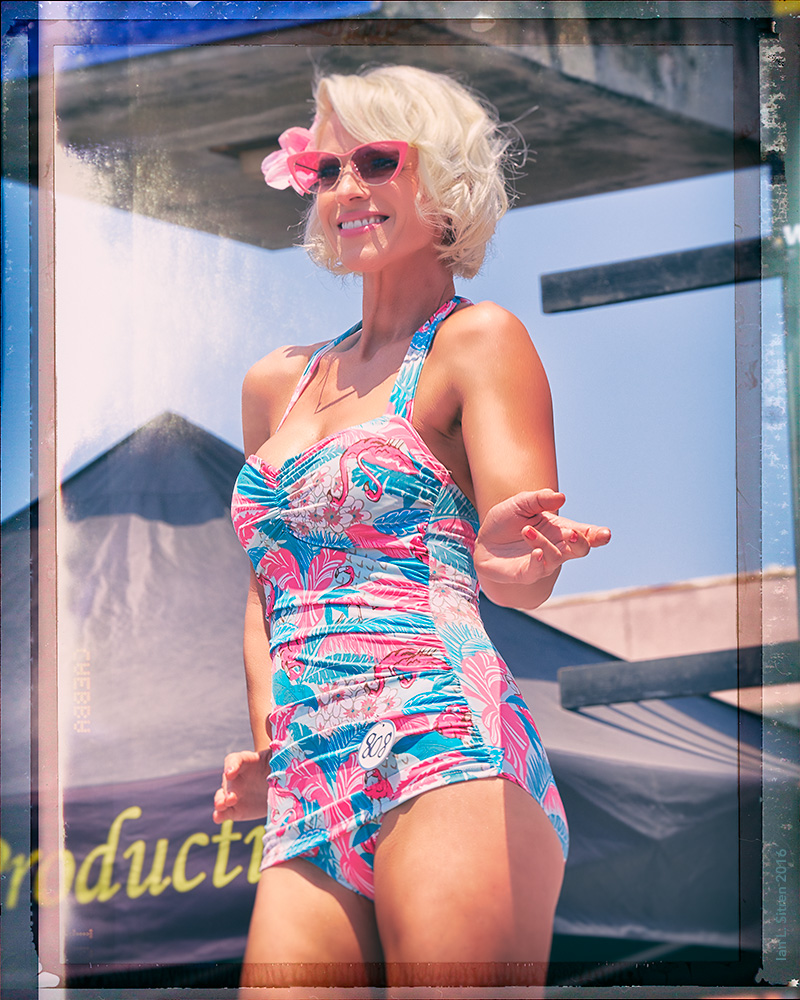 Hannah In Her Vintage Swimsuit