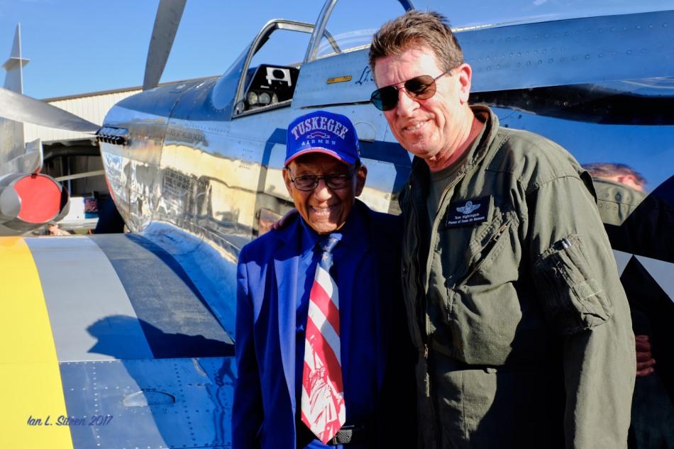 Tuskegee Airman Lt. Col. Bob Friend Turns 97