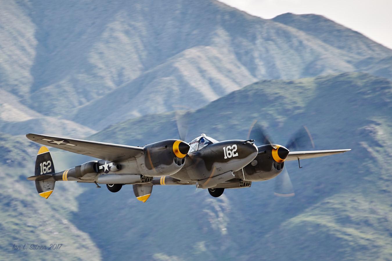 P-38 Lighning Flyby