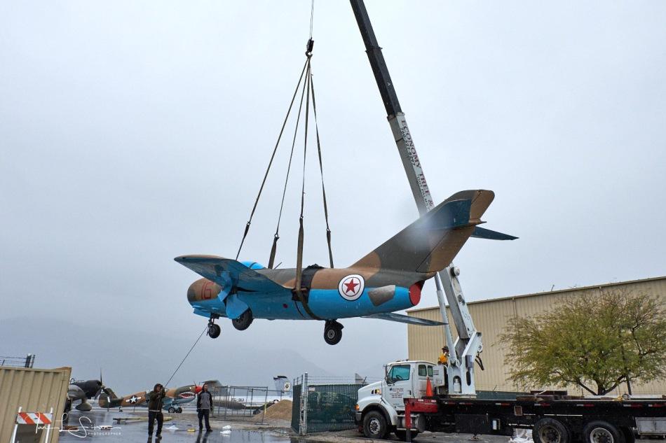 MiG-15 Lift