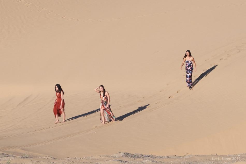 Three In The Dunes