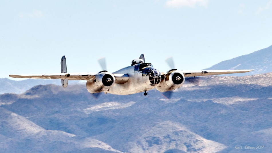 B-25 In Palm Springs