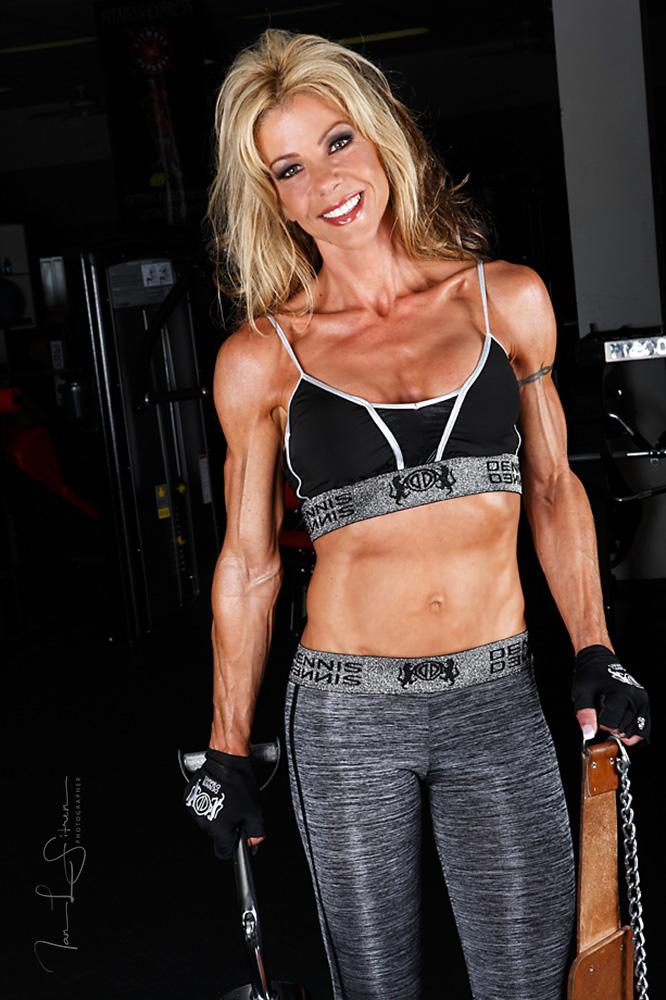 Amy Sedlatschek in the Gym