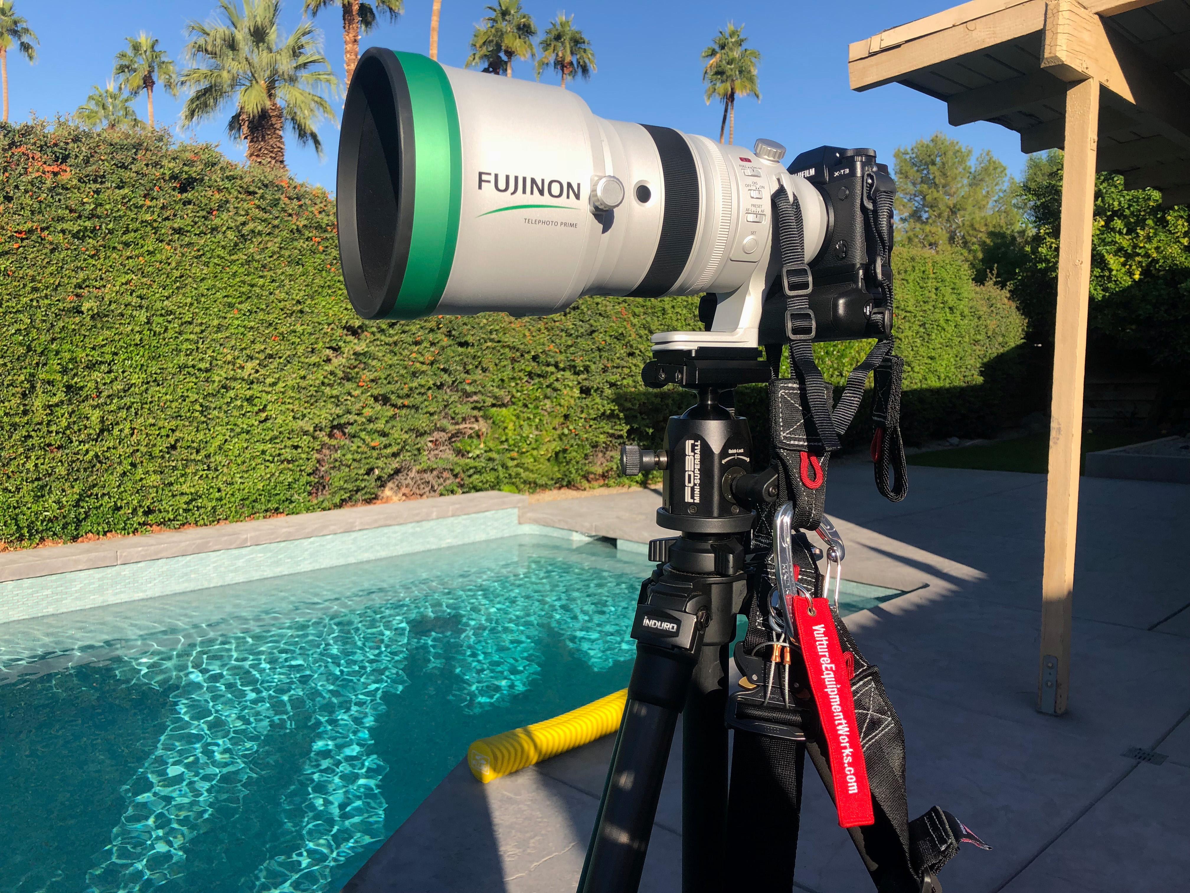 Fujifilm XT3 200F2 on tripod