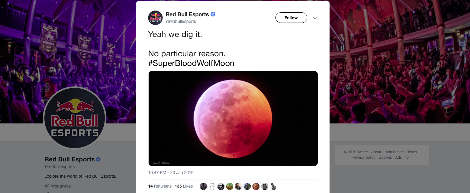 red bull twitter eclipse