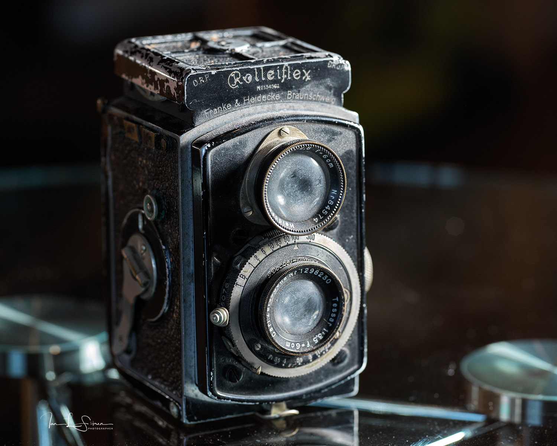 X1DII Shooting a Rolleiflex