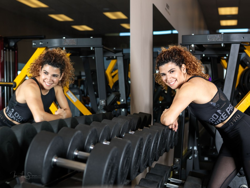 Naomi Molina In The Gym