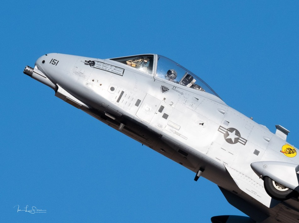 A-10 Thunderbolt At Hangar 24 Airshow
