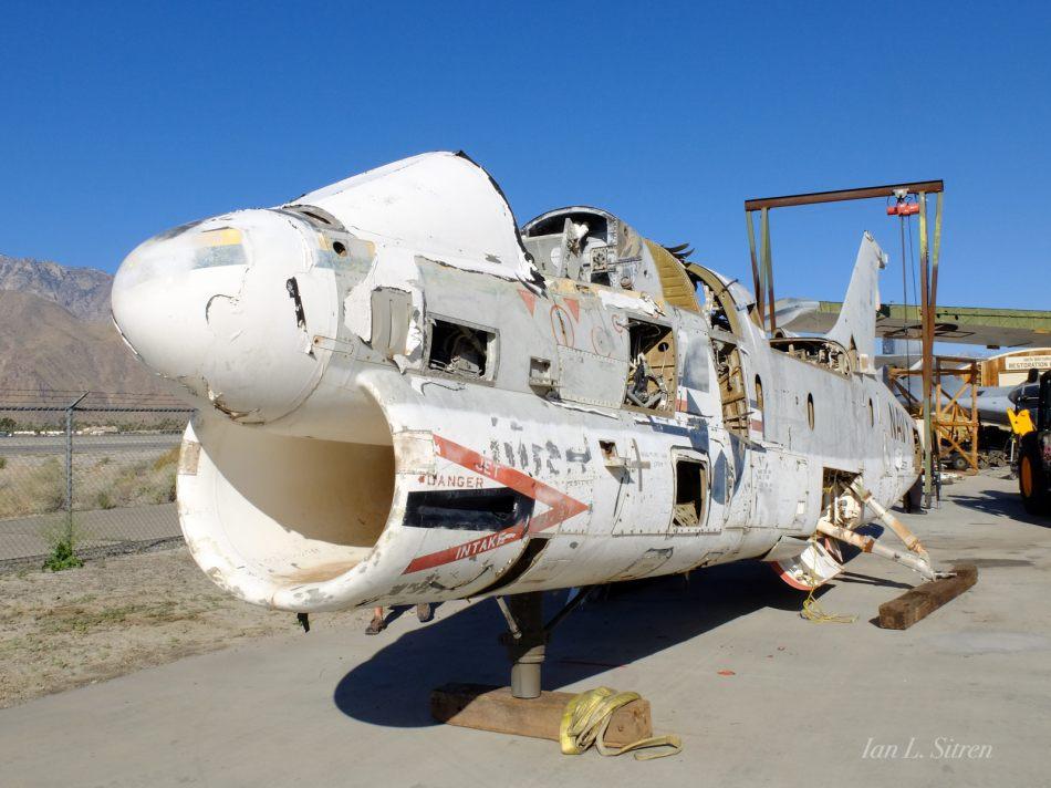 A-7 Corsair Arrival