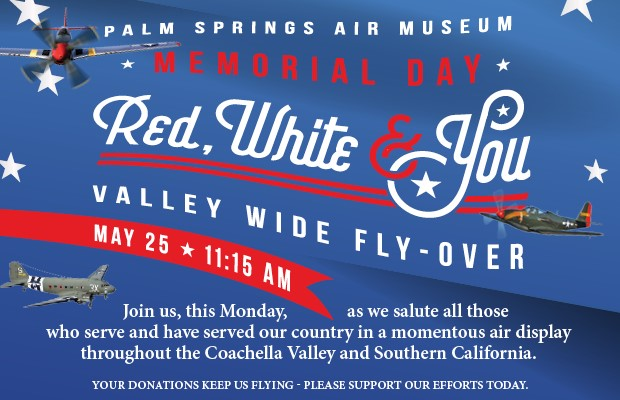 CV memorial Day Flyover