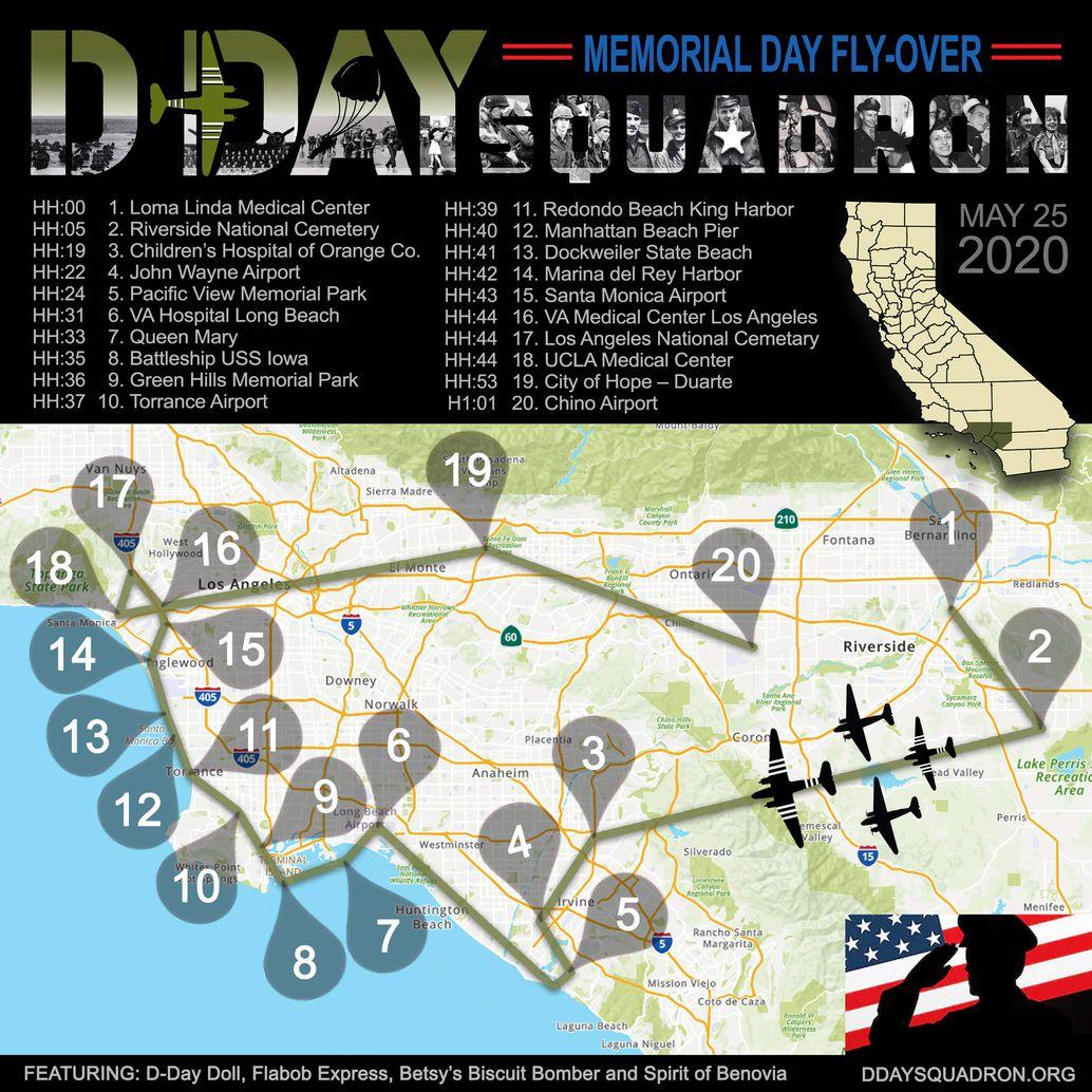 Memorial Day Map
