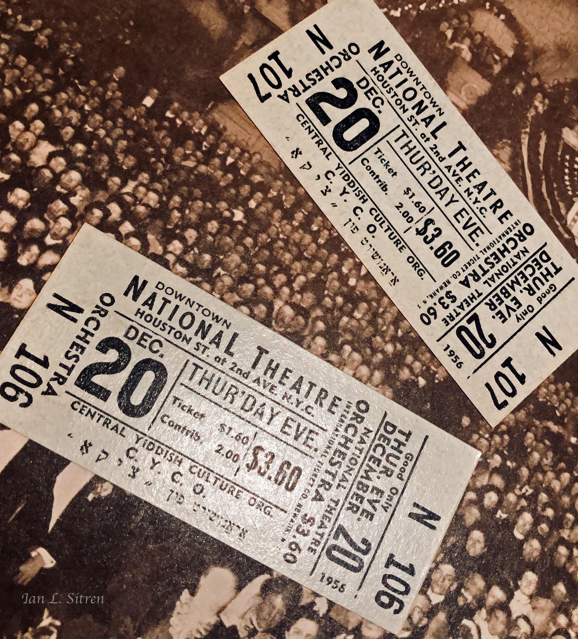Tickets 1956